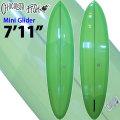 [新古品の為、特別価格] Chocolate Fish チョコレートフィッシュ サーフボード Mini Glider ミニグライダー 7'11 ミッドレングス ファンボード シングルフィン [条件付き送料無料]