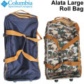 [現品限り特別価格] Columbia コロンビア バッグ キャリーケース Alata Large Roll Bag アラタラージロールバッグ キャリーバッグ タイヤ ホイール 付き