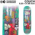 FOUNDATION ファンデーション スケートボード デッキ [FD-6] COUCH (8.25 × 31.88)  スケボー SKATE BOARD DECK