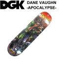 DGK デッキ ディージーケー スケートボード APOCALYPSE シリーズ [D-30] SKATEBOARD DECK スケボー