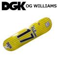 DGK デッキ ディージーケー スケートボード OG WILLIAMS シリーズ [D-23] SKATEBOARD DECK スケボー