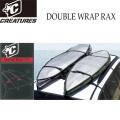 サーフボードキャリア DOUBLE WRAP RAX ダブル ラック CREATURES クリエイチャー