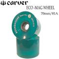 carver カーバー サーフスケート ウィール ECO-MAG WHEEL 70mm [エコ ウィール] 2個1SET スケートボード
