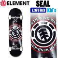 ELEMENT エレメント コンプリート SEAL [EL-106] 7.375inch スケートボード キッズ ユース 子供向け 完成品 スケボー SKATE BOARD COMPLETE