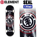 ELEMENT エレメント コンプリート SEAL [EL-104] 7.75inch スケートボード 完成品 スケボー SKATE BOARD COMPLETE