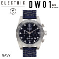 [現品限り特別価格] [旧モデル] ELECTRIC エレクトリック 腕時計 【DW01 EW3002 NATO NAVY】 [WATCH・時計] 【ラッピング可】