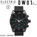 [旧モデル] ELECTRIC エレクトリック 腕時計 【DW01 EW3003 PU BLACK ORANGE】 [WATCH・時計] 【ラッピング可】