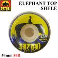 SATORI MOVEMENT WHEEL サトリムーブメント サトリウィール [S-11] ELEPHANT TOP SHELF 54mm 84B  ソフトウィール SKATE BOARD スケートボード ウィール