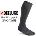 DEELUXE ディーラックス サーモソックス  EVO TABI タビ型 スノーボード 靴下 ユニセックス