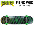 CREATURE クリーチャー スケートボード コンプリート FIEND WED (7.75 x 31.4) [H-3] 完成品スケボー SKATE