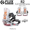 代引料無料 17-18 FLUX フラックス ビンディング R2 アールツー バインディング コラボレーション BINDING 日本正規品