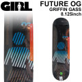 GIRL ガール スケートボード デッキ FUTURE OG GRIFFIN GASS グリフィン・ガス [GL-38] 8.125inch スケボー パーツ SKATE BOARD DECK