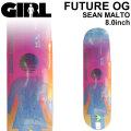 GIRL ガール スケートボード デッキ FUTURE OG SEAN MALTO ショーン・マルト [GL-39] 8.0inch スケボー パーツ SKATE BOARD DECK