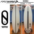 【送料無料】FIREWIRE SURFBOARDS ファイヤーワイヤー サーフボード OMNI オムニ TOMO [LFT] ショートボード ケリースレーター デザイン