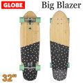 [5月末頃入荷予定] GLOBE スケートボード グローブ Big Blazer [5] Bamboo Dotted 32インチ コンプリート サーフスケート スケボー サーフィン トレーニング