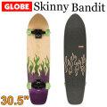 [5月末頃入荷予定] GLOBE スケートボード グローブ Skinny Bandit [3] 30.5インチ コンプリート サーフスケート スケボー サーフィン トレーニング