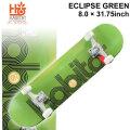 HABITAT スケートボード コンプリート ハビタット ECLIPSE GREEN [8.0×31.75インチ] [H-103] スケボー 完成品 SKATE BOARD COMPLETE