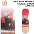 HABITAT スケートボード デッキ ハビタット IMAGINARY BEINGS2 STEFAN JANOSKI [7.875×31.25インチ] [HA-1] スケボー パーツ SKATE BOARD DECK