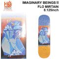 HABITAT スケートボード デッキ ハビタット IMAGINARY BEINGS2 FLO MIRTAIN [8.125×31.625インチ] [HA-4] スケボー パーツ SKATE BOARD DECK