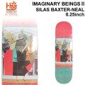 HABITAT スケートボード デッキ ハビタット IMAGINARY BEINGS2 SILAS BAXTER-NEAL [8.25×31.75インチ] [HA-6] スケボー パーツ SKATE BOARD DECK