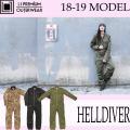 18-19 エルワン ウェア レディース HELLDIVER スノボウェア パンツ L1