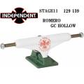 INDEPENDENT TRUCK インディペンデント トラック STAGE11 LEO ROMERO GC HOLLOW 129 139 STANDARD HIGH スケートボード トラック [15] [16] [17] [18]