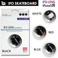 IFO SKATEBOARD【アイエフオー】 カメラレンズ  IFO LENS for iphone5 【アイフォン5専用】 [フィッシュアイ 広角 マクロ]