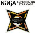 NINJA BEARING 【ニンジャ】 ベアリング スケボー SUPER RIJING [スーパー雷神] ABEC7 (オイルタイプ) スターケース [メール便送料200円可能]