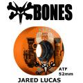 BONES WEELS ボーンズ ウィール JARED LUCAS 52mm 80a [ATF] スケートボードウィール 正規品