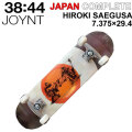 JOYNT ジョイント スケートボード コンプリート JAPAN COMPLETE [J-105] HIROKI SAEGUSA ジャパン コンプリート 7.375 × 29.4インチ スケボー 完成品