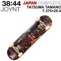 JOYNT ジョイント スケートボード コンプリート JAPAN COMPLETE [J-106] TATSUMA TAMANO ジャパン コンプリート 7.375 × 29.4インチ スケボー 完成品