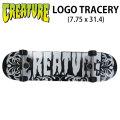 CREATURE クリーチャー スケートボード コンプリート LOGO TRACERY (7.75 x 31.4) [H-4] 完成品スケボー SKATE