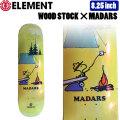 ELEMENT x PEANUTS Collectionエレメント ピーナッツ スヌーピー WOOD STOCK MADARS [EL-13] 8.25inch BB027-005 スケートボード デッキ 正規品