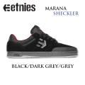 ETNIES 【エトニーズ】スケートシューズ【MARANA】マラナ[BLK D.GRY GRY]スケートボード シューズ スニーカー