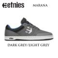 ETNIES 【エトニーズ】スケートシューズ【MARANA】マラナ[D.GREY L.GREY]スケートボード シューズ スニーカー