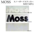 MOSS スノーボード ステッカー MID MFG モス カッディングステッカー[4][5][6] 245×80mm