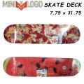 【在庫1本限り特別価格】 SKATE スケートボード デッキ MINI LOGO ミニロゴ 7.75 [Small Bomb Water Melon PIZZA] スケボー