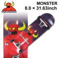 TOY MACHINE トイマシーン スケートボード followsオリジナル コンプリート MONSTER (8.0 × 31.63) [TM-116] 完成品 スケボー SKATE BOARD COMPLETE