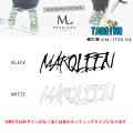MARQLEEN マークリーン ステッカー TAGGING ステッカー MEDIUM カッティングスノーボードステッカー