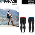 MY PAKAGE マイパッケージ ボクサーパンツ WEEKDAY First Layer Long Pants ファーストレイヤー メンズ 下着 パンツ トランクス インナーウェア