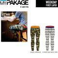 MY PAKAGE マイパッケージ ボクサーパンツ WEEKDAY First Layer Long Pants プリントデザイン メンズ 下着 パンツ トランクス インナーウェア