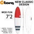 [送料無料] TORQ SurfBoard トルク サーフボード NEW CLASSIC MOD FUN 7'2 ファンボード エポキシ [個別サーフボード100]