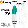 [特別価格] TORQ SurfBoard トルク サーフボード NEW CLASSIC MOD FUN 7'6 ファンボード エポキシ [2019年 終了カラー] [条件付き送料無料]