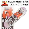 TOY MACHINE トイマシーン スケートボード コンプリート NOAH MERIT EYES (8.13 × 31.75) [TM-114] 完成品 スケボー SKATE BOARD COMPLETE