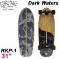 OB Five オービー ファイブ サーフスケート Dark Waters ダークウォーターズ RKP-1 31インチ [4] SURF TRUCK スケートボード オブ ファイブ スケボー