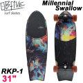 OB Five オービー ファイブ サーフスケート Millennial Swallow ミレニアムスワロー RKP-1 31インチ [44] SURF TRUCK スケートボード オブ ファイブ スケボー
