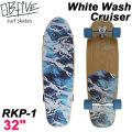 OB Five オービー ファイブ サーフスケート White Wash Cruiser ホワイトウォッシュクルーザー RKP-1 32インチ [11] SURF TRUCK スケートボード オブ ファイブ スケボー