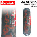 CHOCOLATE スケートボード デッキ チョコレート OG CHUNK SERIES STEVIE PEREZ スティービー・ペレズ [CH-24] 8.0inch スケボー パーツ SKATE BOARD DECK