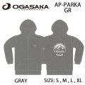 OGASAKA Sowboard オガサカスノーボード 長袖 パーカー [14] AP-PARKA_GR