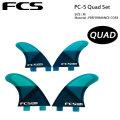 FCS フィン エフシーエス PC-5 Performance Core SLICE パフォーマンスコア クアッドフィンセット QUAD FIN SET
